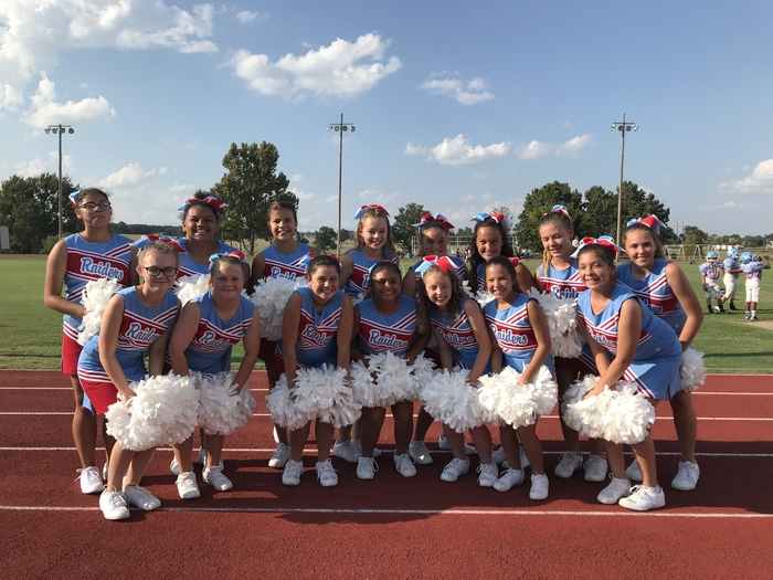 Maryetta Cheerleaders