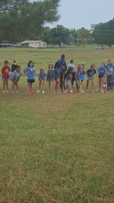 3rd grade girls! Tahlequah CC Meet!