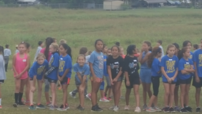 4th grade girls Maryetta CC Team!