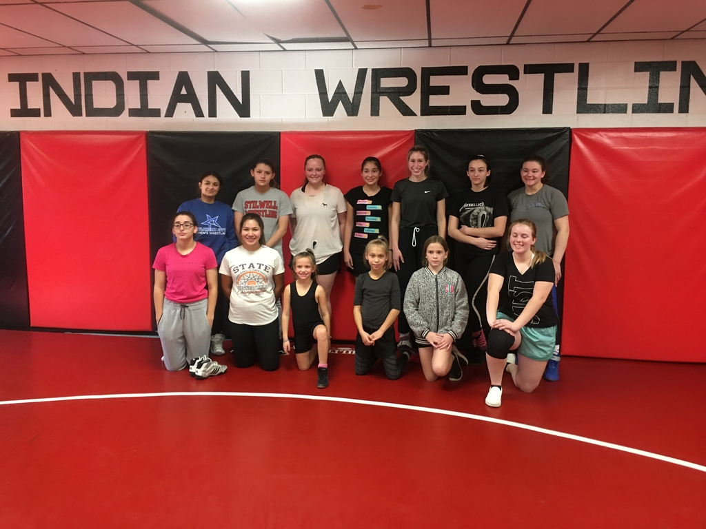 Wrestling workshop.